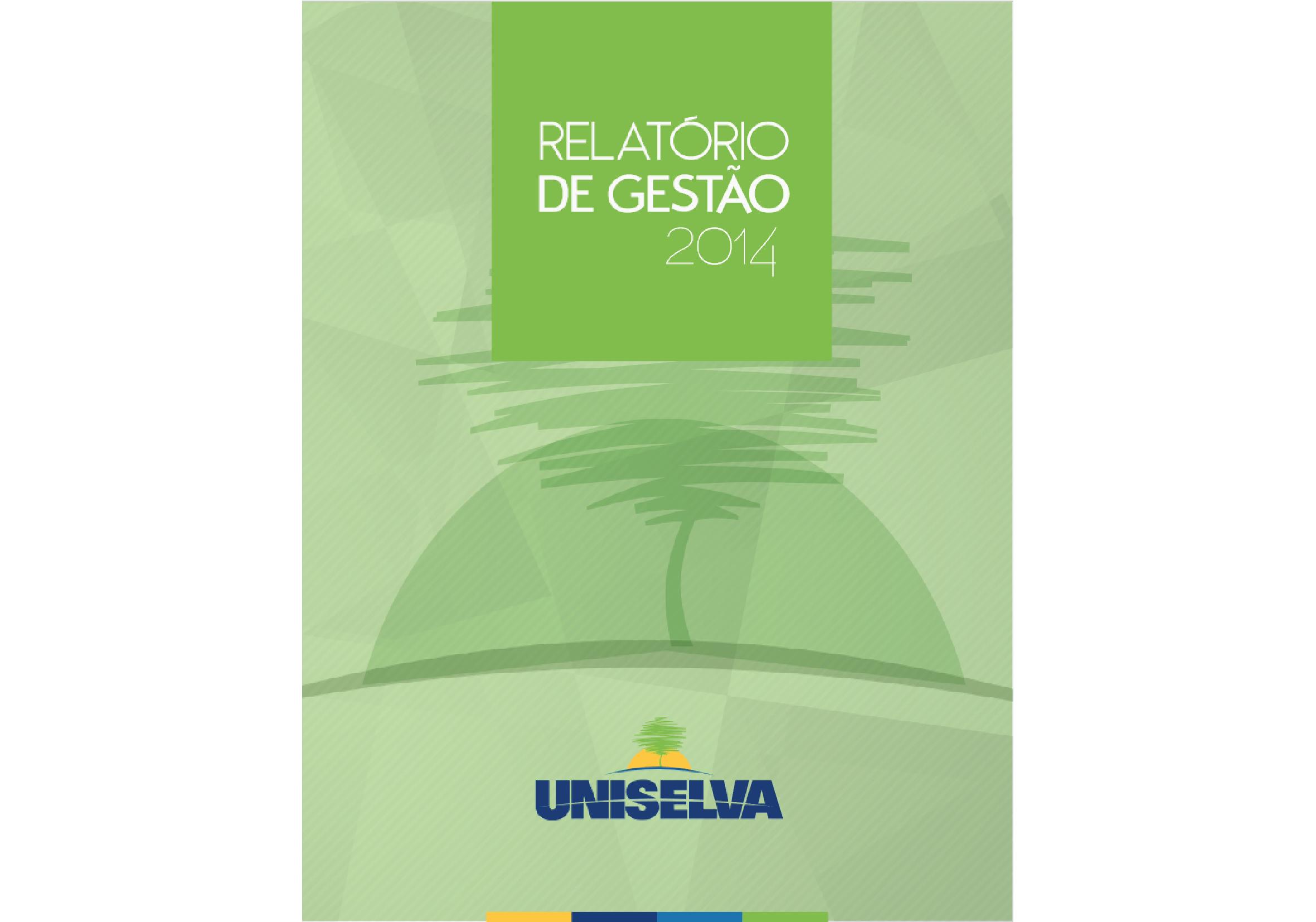Relatório de Gestão - 2014